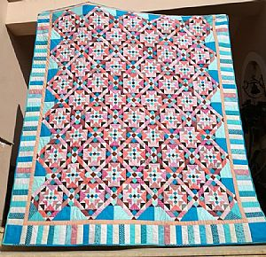 Mystery Quilt-On Ringo Lake by Bonnie Hunter 2017